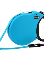 Alcott Alcott Adventure Retractable Leash - Blue - Medium