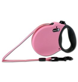 Alcott Alcott Adventure Retractable Leash - Pink - Small