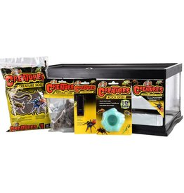 Zoo Med Zoo Med Creatures Creature Den Low Profile Starter Kit - 6 gal