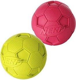 "Nerf Dog Nerf Dog Soccer Squeak Ball, Large, 4"""