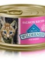 Blue Buffalo Blue Buffalo Wilderness Kitten Canned Salmon Recipe 3oz (85g)