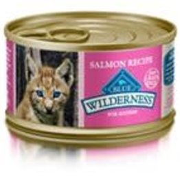 Blue Buffalo Blue Buffalo Wilderness Kitten Canned Salmon Recipe 3oz (85g)
