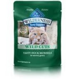 Blue Buffalo Blue Buffalo Wilderness Wild Cuts Adult Cats Tasty Duck Morsels  3oz