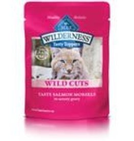 Blue Buffalo Blue Buffalo Wilderness Wild Cuts Adult Cats Tasty Salmon Morsels 3oz