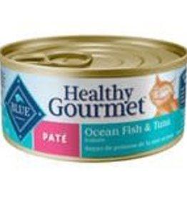 Blue Buffalo BLUE BUFFALO Healthy Gourmet Pate Ocean Fish & Tuna Entree 5oz (156g)