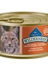 Blue Buffalo Blue Buffalo Wilderness Adult Cat Canned Turkey Recipe 3oz (85g)