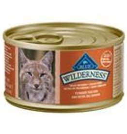 Blue Buffalo Blue Buffalo Wilderness Adult Cat Canned Turkey Recipe 3oz (85g)