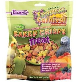 Browns Tropical Carnival Natural Baked Crisps 0.8oz