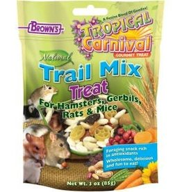Browns Tropical Carnival Trail Mix Hamster Treat 3oz