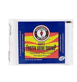San Francisco Bay Brand Sally's Frozen Brine Shrimp 8oz