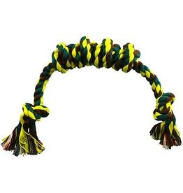 "Animal Treasures Animal Treasures XL 18"" Spiral rope Toy"