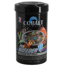 Cobalt Aquatics Cobalt Aquatics Pro Breeder Flakes Premium Fish Food - 1.2 oz