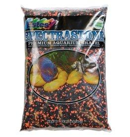 estes Estes PermaGlo Mini Gravel - Black/Orange - 5 lb