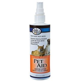 Four Paws Pet Aid Medicated Anti-Itch Spray - 8 fl oz