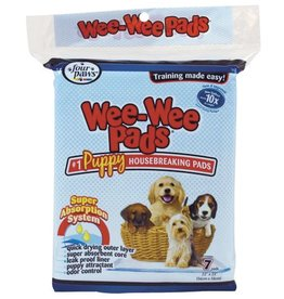 "Four Paws Wee-Wee Puppy Housebreaking Pads - 22"" x 23"" - 7 pk"