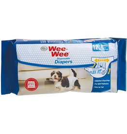 Four Paws Wee Wee Disposable Diapers XS 12PK