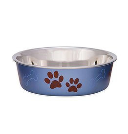 Loving Pet Products Loving Pets Products Bella Bowl - Metallic Blueberry - X-Large