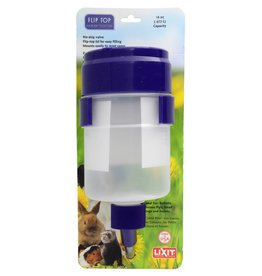 Lixit Quick Lock Flip Top Water Tank with Valve - 16 fl oz