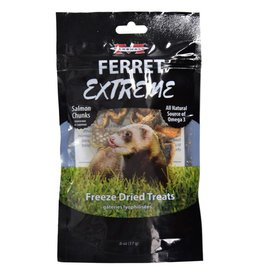Marshall  Ferret Extreme Freeze Dried Treats - Salmon Chunks - 3 oz