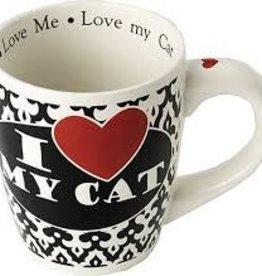 Petrageous Petrageous I love my Cat Jumbo 28oz Mug