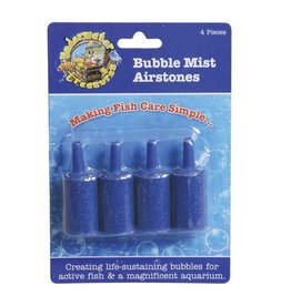 Underwater Treasures Underwater Treasures Bubble Mist Airstone - Cylindrical - 4 pk