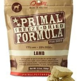 Primal Primal Freeze-Dried Nuggets Canine Lamb Formula 5.5oz