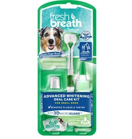 Tropiclean TropiClean Fresh Breath Advanced Whitening Oral Care Kit for Small Dogs 2oz