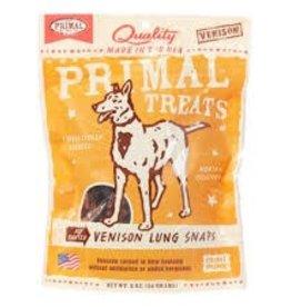 Primal Primal Venison Lung Snaps 2oz