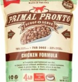 Primal Primal Frozen Pronto Canine Chicken 0.75lb Trial Size
