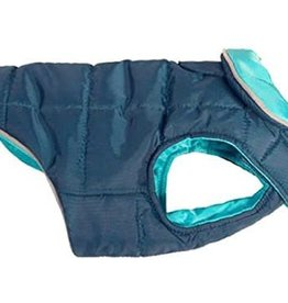 RC Pets RC Pets Skyline Puffy Vest Electric Blue/Cyan Size 8