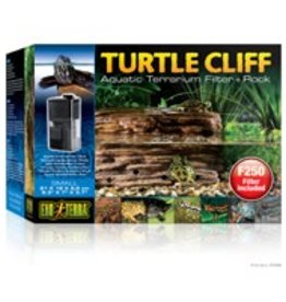 "Exo Terra Exo Terra Turtle Cliff Aquatic Terrarium Filter + Rock Small - 21 x 18x 9.5cm (8.3"" x 7"" x 3.7"" in)"