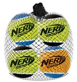 NERF Nerf Dog Squeak Tennis Balls, 4pk, X-Small, 1.75""
