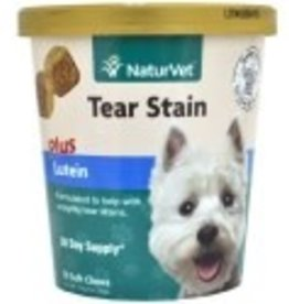 NaturVet NaturVet Tear Stain with Lutein Soft Chew 70pc
