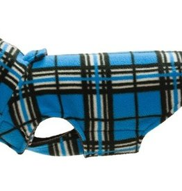RC Pets RC Pet Products Whistler Winter Wear V2 Blue Tartan Size 20