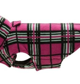 RC Pets RC Pet Products Whistler Winter Wear V2 Raspberry Tartan Size 22