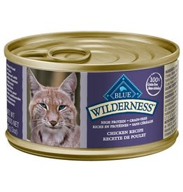 Blue Buffalo Blue Buffalo Wilderness Adult Cat Canned Chicken Recipe 3oz (85g)