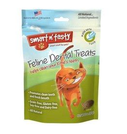 Emerald Pet Emerald Pet Smart N Tasty Cat Dental Treat Tuna Flavour 3oz