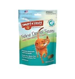 Emerald Pet Emerald Pet Smart N Tasty Cat Dental Treat Oceanfish Flavour 3oz
