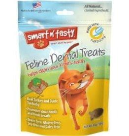 Emerald Pet Emerald Pet Smart N Tasty Cat Dental Treat Turducky 3oz