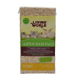 Living World Aspen Shavings - 20 L (1200 cu in)