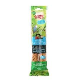 Living World Budgie Sticks Vegetable Flavour