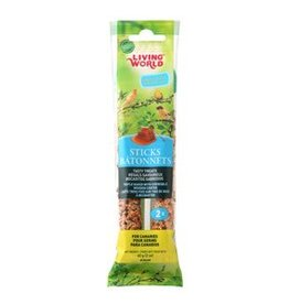 Living World Canary Sticks Honey Flavour