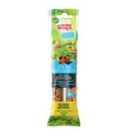 Living World Canary Sticks Fruit Flavour - 2 pack