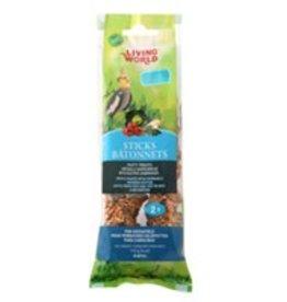 Living World Cockatiel Sticks Vegetable Flavour - 2 pack
