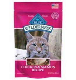 Blue Buffalo Blue Buffalo Wilderness Chicken & Salmon Recipe Cat Treats 2oz