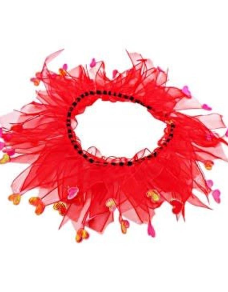"Bandanas Republic Inc Valentines Day Collar Small 10-12"""