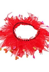 "Bandanas Republic Inc Valentines Day Collar Medium 12-14"""