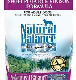 Natural Balance Natural Balance L.I.D. Sweet Potato & Venison 4.5LB