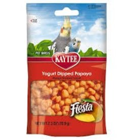 Kaytee Kaytee Treats Mango Flavored Yogurt Dipped Papaya Treat Pet Bird 2.5oz