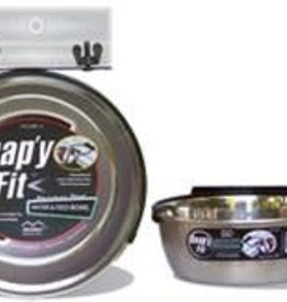Mid West Snappy Fit SS Bracket/Bowl 2QT